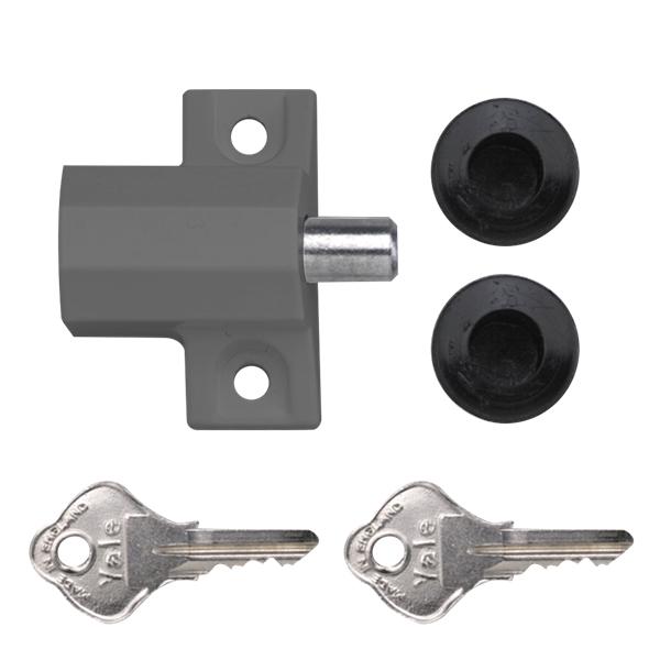 Yale p114 patio door lock for Door yale lock
