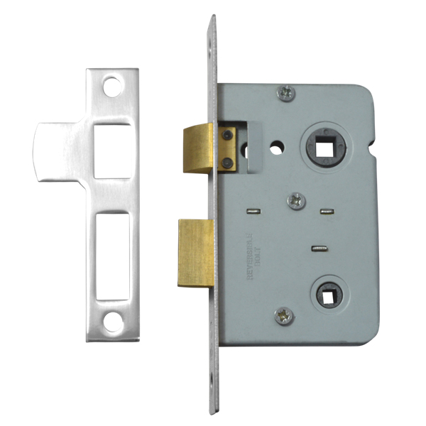 legge 3751 bathroom lock 64mm nickel plated