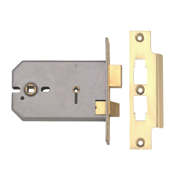 union 2026 horizontal bathroom mortice lock