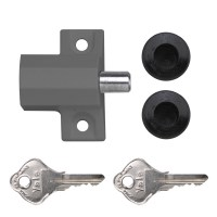 Yale P114 Patio Door Lock Grey
