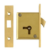 Asec 85 4 Lever Mortice Cupboard Hook Lock 64mm Right Hand