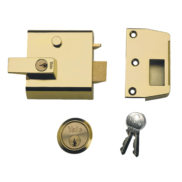 Yale No 1 And 2 Auto Deadlocking Cylinder Nightlatch