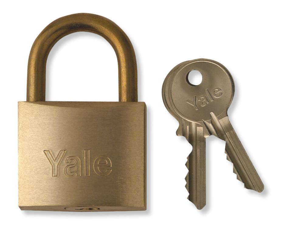 yale 700 series brass commercial padlock. Black Bedroom Furniture Sets. Home Design Ideas