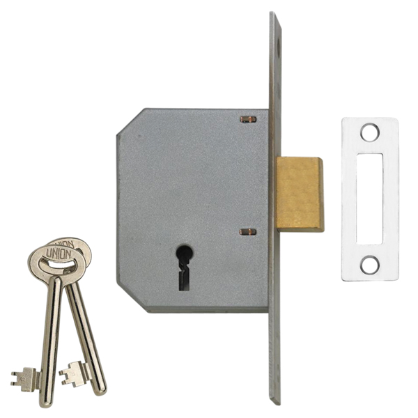 Union 2188 3 Lever Dead lock Double throw - www locktrader co uk