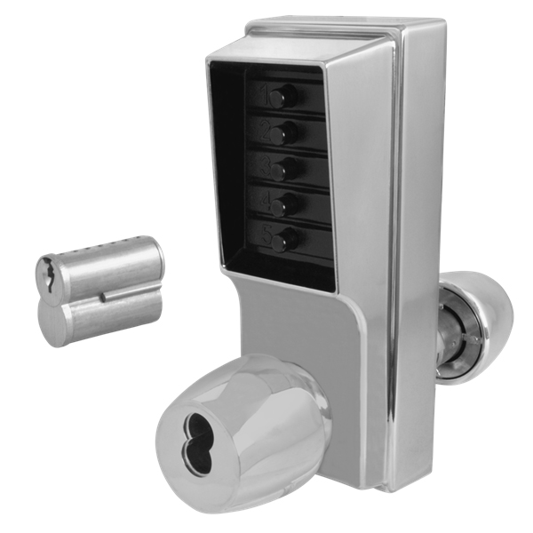 KABA Simplex 1000 Series Knob Operated Digital Door Lock