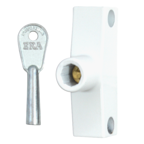 ERA 801-12 Standard Key Snaplock White 1 Lock 1 Key