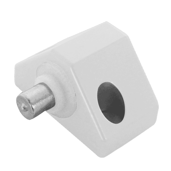 Asec Patio Door Push Lock White