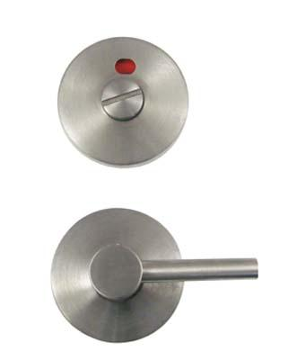 Asec Disabled Bathroom Indicator Turn Set Satin Stainless Steel