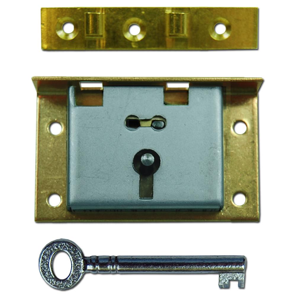 asec 20 1 lever box lock in brass www