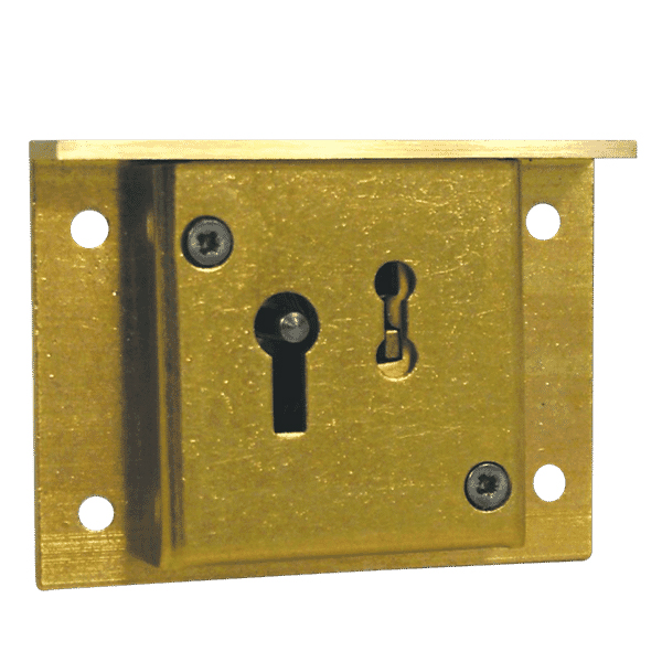 Asec 2 Lever Till Lock 64mm Brass