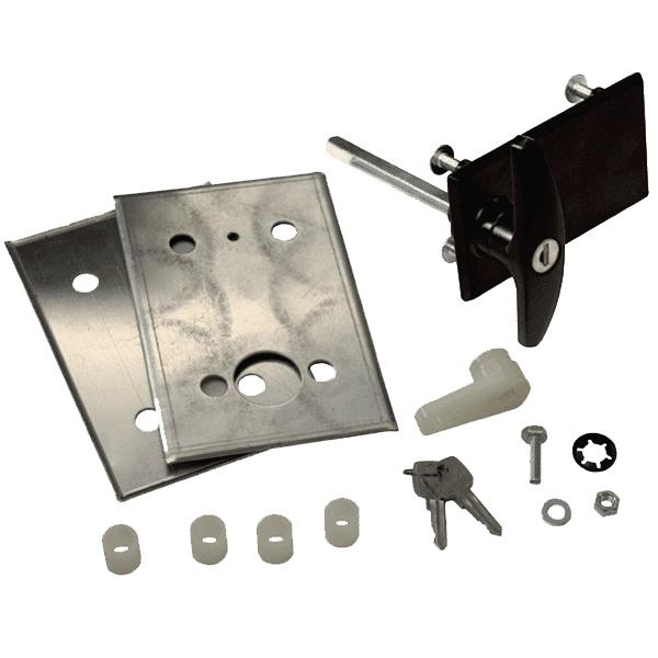 Garador Garage Door Handle Conversion Kit Black Www