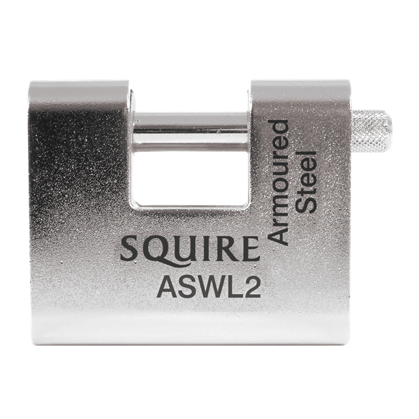 Squire ASWL2 5 Pin Straight Shackle Padlock 80mm