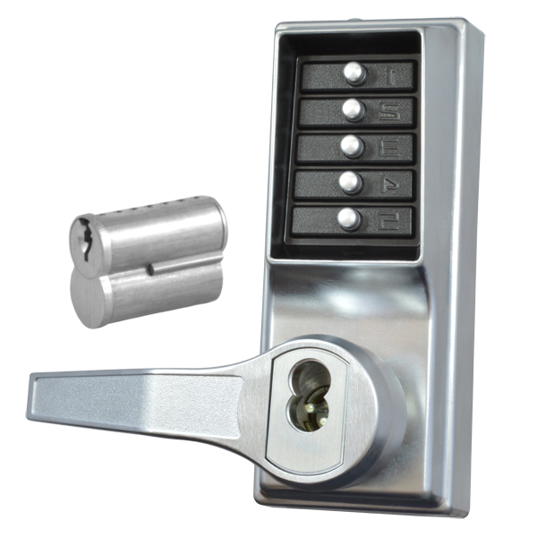KABA Simplex L1000 Series Push Button Door Lock with Handles
