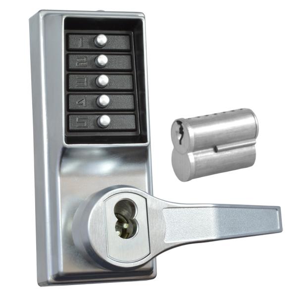 Kaba Simplex L1000 Series Push Button Door Lock With