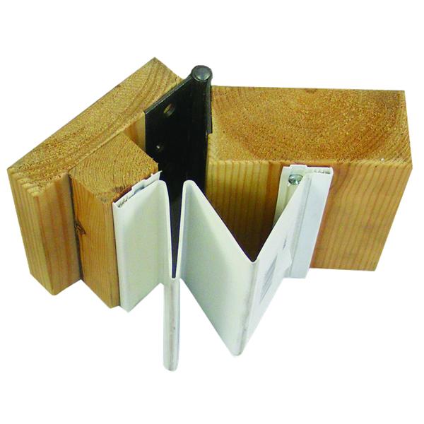 Fingersafe Mk1a Door Safety Guard Hinge Opening Side White