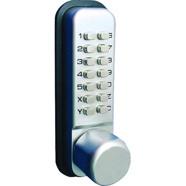 KABA Simplex LD451with Knob Turn in Stainless Steel