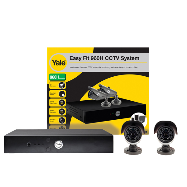 Yale Easy Fit 960H 2 Camera SCH-802A