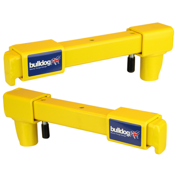 Bulldog VA101 and VA102 Van Door Locks Pair - Yellow