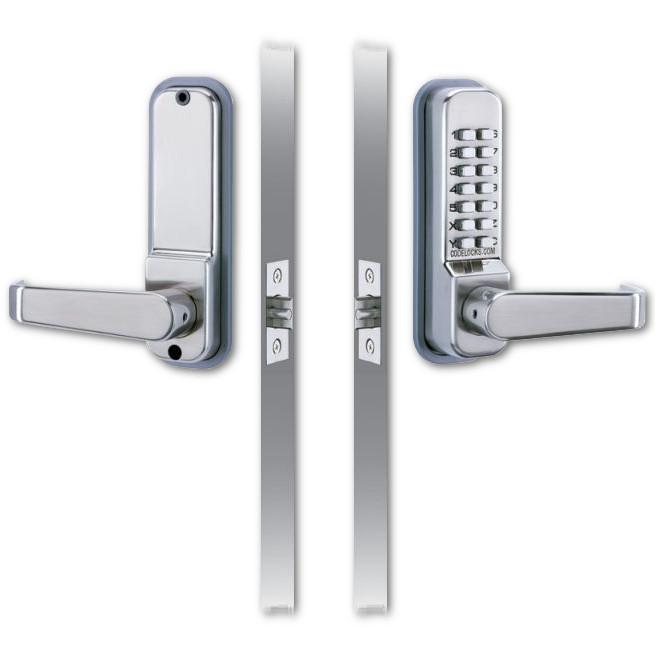 Codelock CL410 Push Button Digital Door Lock with Tubular Latch