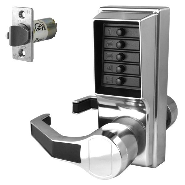 KABA Simplex L1000 Series Push Button Door Lock with Handles - www ...