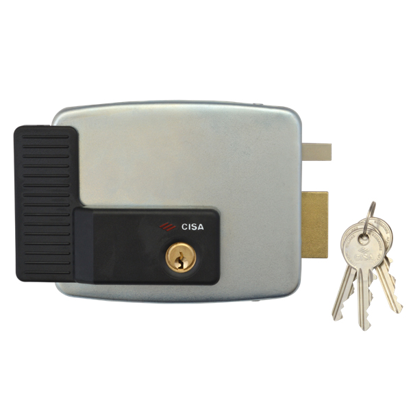 electric garage door lock. cisa 11823 electric rim lock external gates / garage door right hand. variant price modifier: o