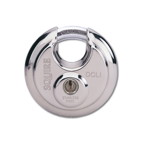 Squire DCL1 5 Pin Discus Padlock 70mm
