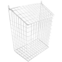 Harvey 62L Letter Cage Large White