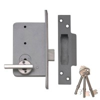 Union / Marston 4K 6 Lever Escape Deadlock 78mm Stainless Steel Left Hand