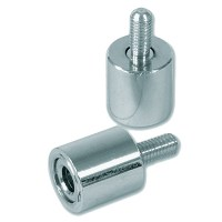 Bramah Rola R3/01 Metal Window Lock Satin Chrome