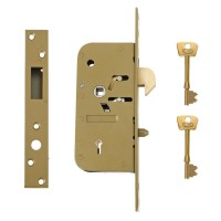 Union-Chubb 3M51 5 Detainer hookbolt lock 70mm Gold