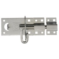 Crompton 2A Padlock Bolt Gate Lock 102mm Galvanised