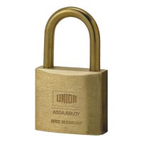Union 3102 5 Pin Brass Padlock 40mm