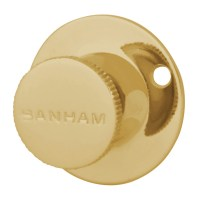 Banham R102 Turn Knob Polished Brass