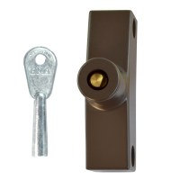ERA 801-22 Standard Key Snaplock Brown 1 Lock 1 Key