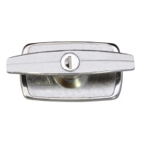 Marley 70 Locking Garage Door Handle Chrome Plated