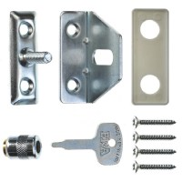 ERA 828-52 Locking Window Catch Satin