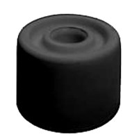Rubber Door Stop 27mm Black