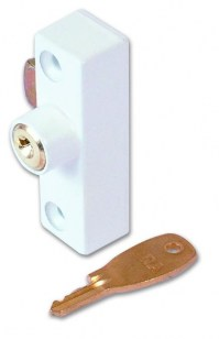 ERA 901-12 Metal Window Lock White