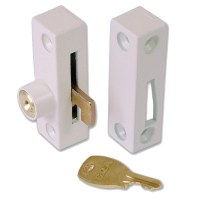 ERA 902-12 Flush Pivot Lock White