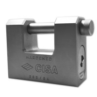 CISA 28550-85 5 Pin Straight Shackle Padlock 84mm 14mm Shackle