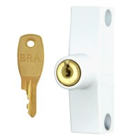 ERA 802-12 Cut Key Snaplock White 1 Lock 1 Key