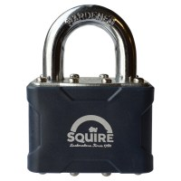 Squire 37 Laminated Padlock 44mm Open Shackle Keyed Alike