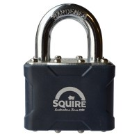 Squire 35 Laminated Padlock 38mm Open Shackle Keyed Alike