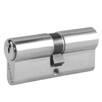 Legge 802 5 Pin Double Euro Cylinder 35/35 70mm Satin Chrome