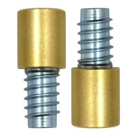 Bramah Rola R1/01 Sash Stop Brass 2 Stops and 2 Inserts