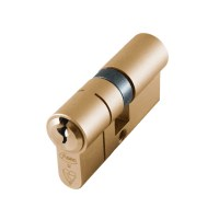 Asec BS Kitemarked Snap Resistant Euro Double Cylinder 30/30 60mm Brass