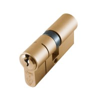 Asec BS Kitemarked Snap Resistant Euro Double Cylinder 35/35 70mm Brass