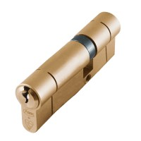 Asec BS Kitemarked Snap Resistant Euro Double Cylinder 35/55 90mm Brass