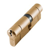 Asec BS Kitemarked Snap Resistant Euro Double Cylinder 40/45 85mm Brass