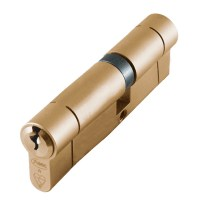 Asec BS Kitemarked Snap Resistant Euro Double Cylinder 40/55 95mm Brass